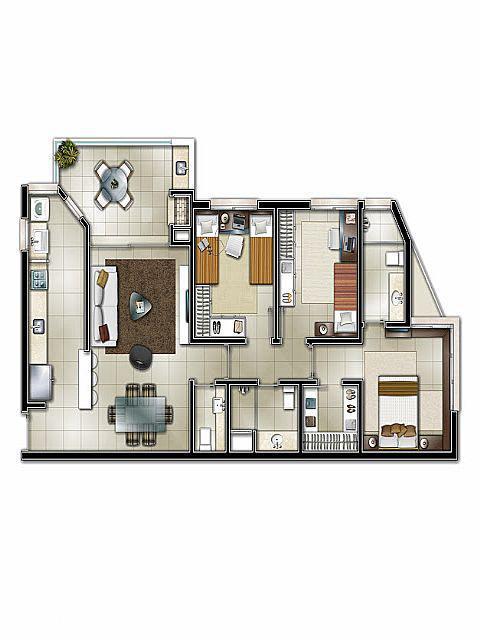 Mapi Imóveis - Apto 3 Dorm, Centro, Novo Hamburgo - Foto 7