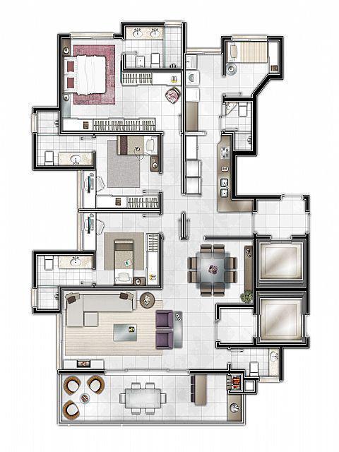Mapi Imóveis - Apto 3 Dorm, Centro, Campo Bom - Foto 5