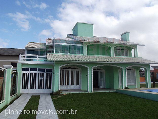 Pinheiro Imóveis - Casa 4 Dorm, Zona Nova (163945)