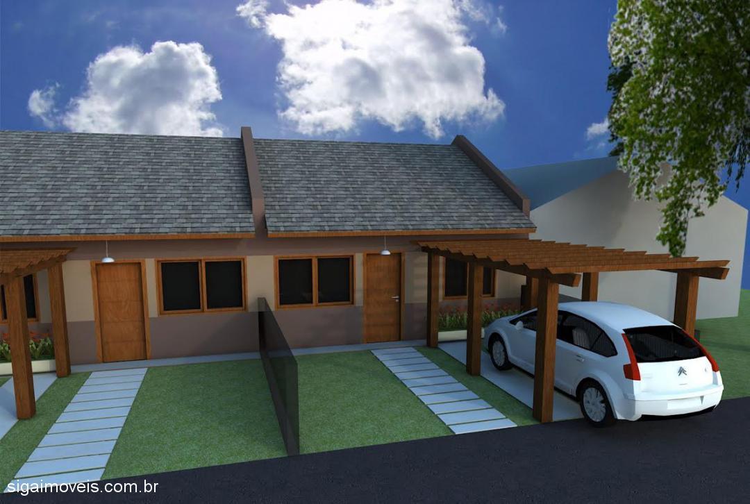 Casa 2 Dorm, Parque da Matriz, Cachoeirinha (360704)