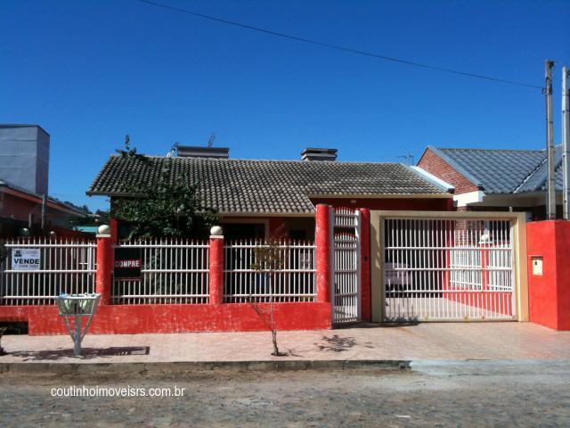 Casa 4 Dorm, Amaral Ribeiro, Sapiranga (102384)