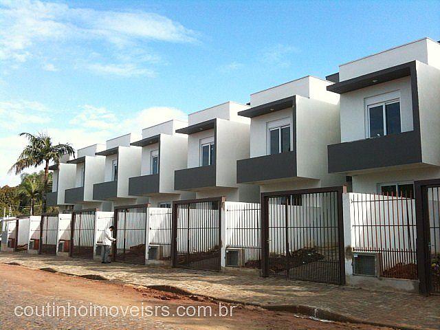 Coutinho Imóveis - Casa 2 Dorm, Centenário