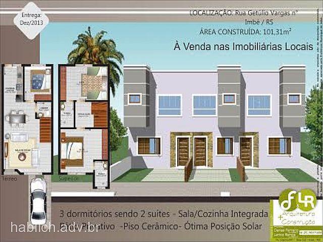 Casa 3 Dorm, Centro, Imbé (153857)