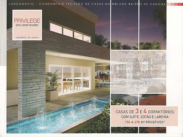Casa 3 Dorm, Moinhos de Vento, Canoas (34956)