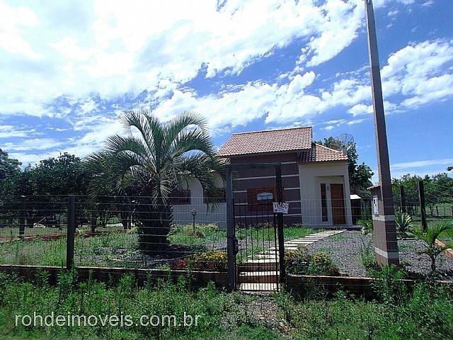 Casa 1 Dorm, Volta da Charqueada, Cachoeira do Sul (128205)