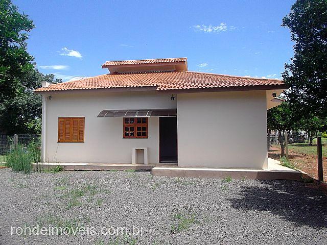 Casa 1 Dorm, Volta da Charqueada, Cachoeira do Sul (128205) - Foto 10