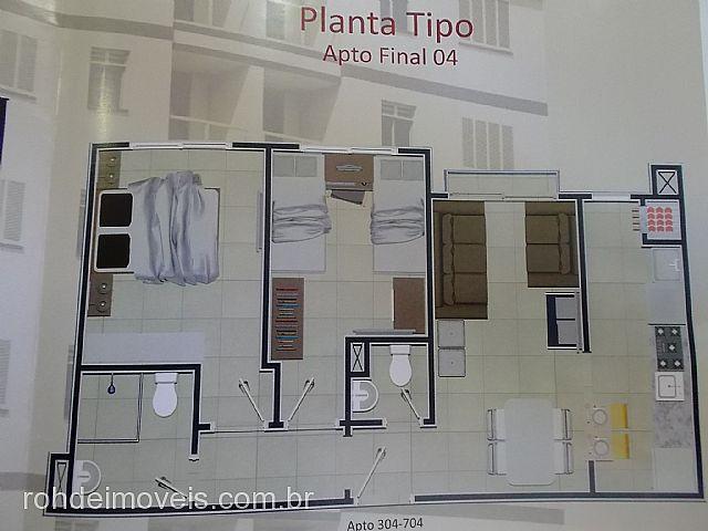 Rohde Imóveis - Apto 1 Dorm, Santo Antônio - Foto 3