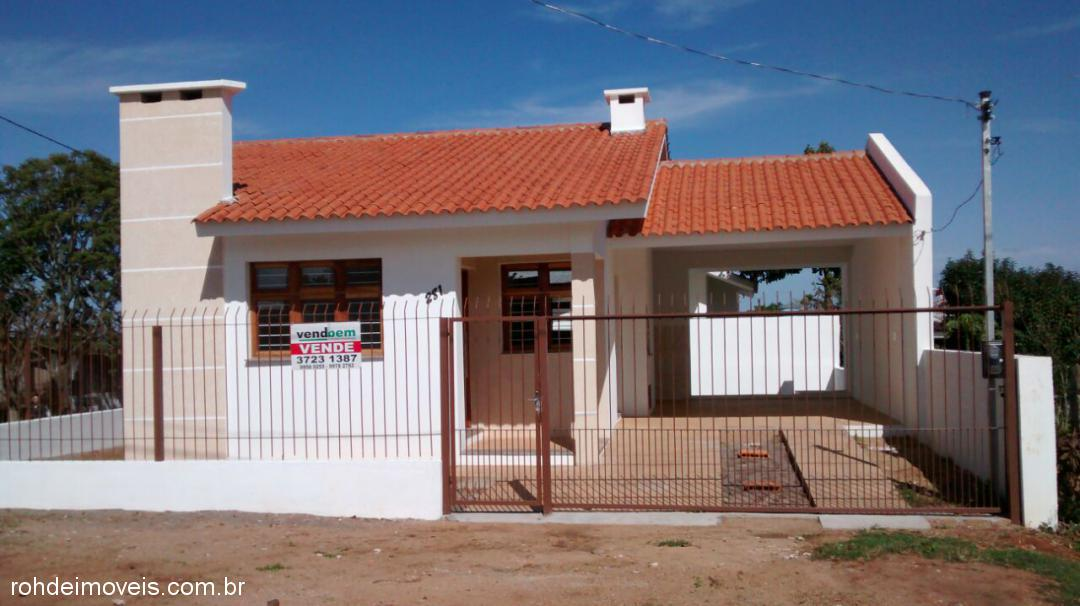 Casa 2 Dorm, Carvalho, Cachoeira do Sul (274423)