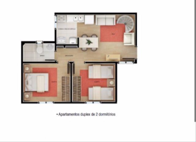 Mundi Imobiliária Gravataí - Cobertura 2 Dorm - Foto 3