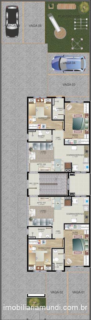Mundi Imobiliária Gravataí - Apto 2 Dorm (312965) - Foto 2