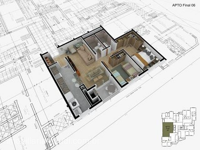 Mundi Imobiliária Gravataí - Apto 2 Dorm, Centro - Foto 3