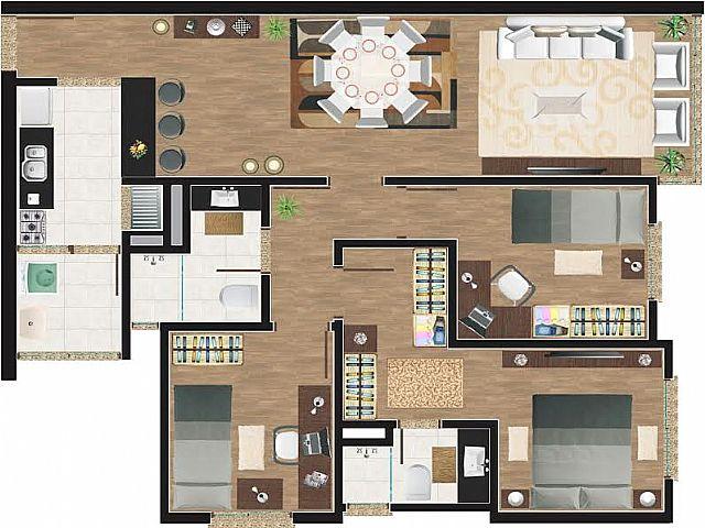 Imobiliária Gestão - Apto 3 Dorm, Centro, Canoas - Foto 3
