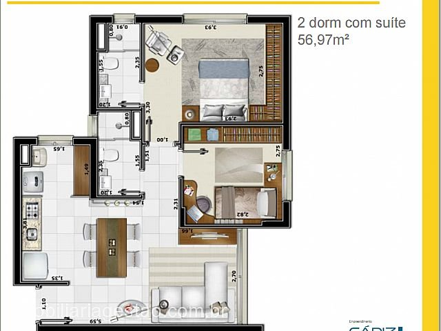 Imobiliária Gestão - Apto 2 Dorm, Alto Petrópolis - Foto 5