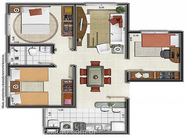 Imobiliária Gestão - Apto 2 Dorm, Igara, Canoas - Foto 4