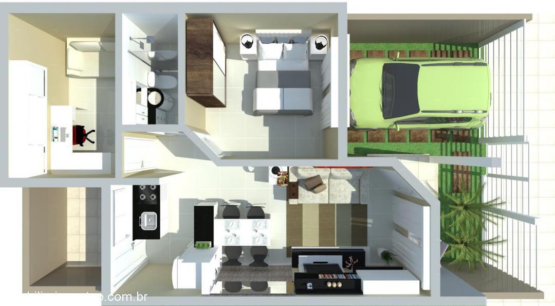 Imobiliária Gestão - Casa 2 Dorm, Bela Vista - Foto 4