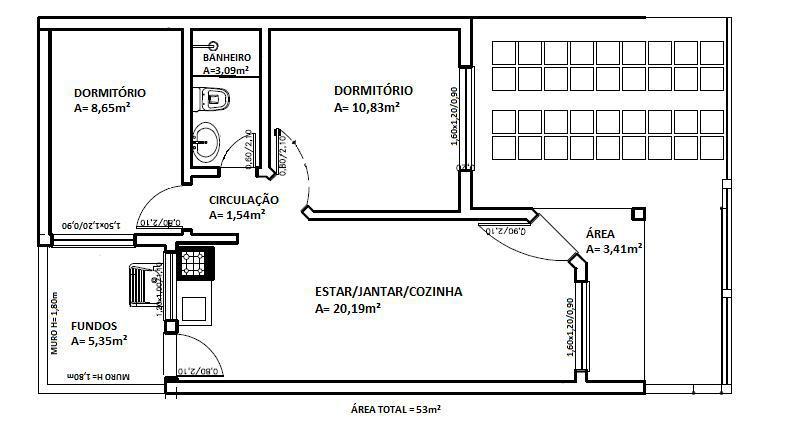 Imobiliária Gestão - Casa 2 Dorm, Bela Vista - Foto 2