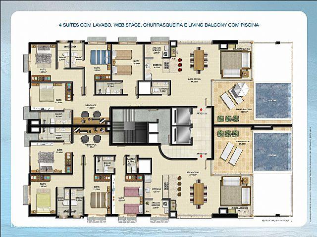 Imobiliária Silva Santos - Apto 4 Dorm, Centro - Foto 3