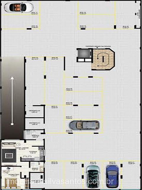 Imobiliária Silva Santos - Apto 2 Dorm, Centro - Foto 4