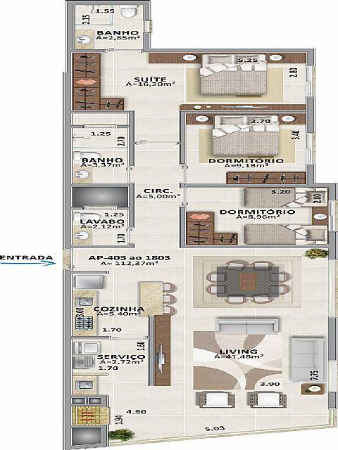 Imobiliária Silva Santos - Apto 3 Dorm, Centro - Foto 7
