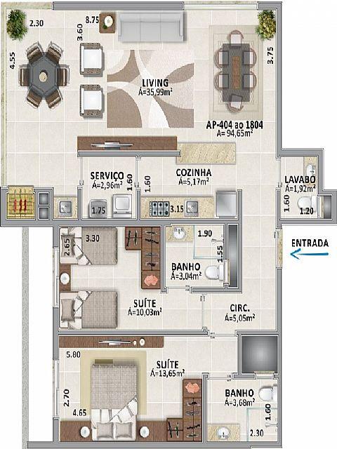 Imobiliária Silva Santos - Apto, Centro, Tramandaí - Foto 4