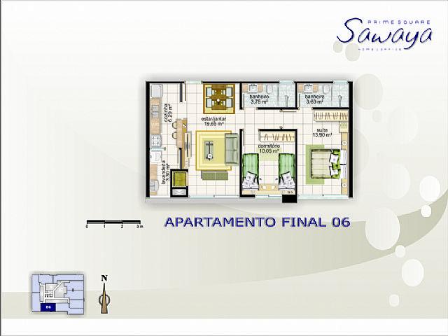 Imobiliária Silva Santos - Apto 2 Dorm, Navegantes - Foto 10