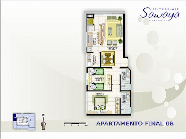 Imobiliária Silva Santos - Apto 2 Dorm, Navegantes - Foto 8