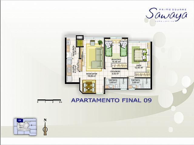 Imobiliária Silva Santos - Apto 2 Dorm, Navegantes - Foto 7