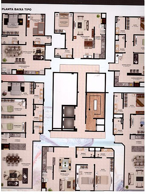 Imobiliária Silva Santos - Apto, Navegantes - Foto 3