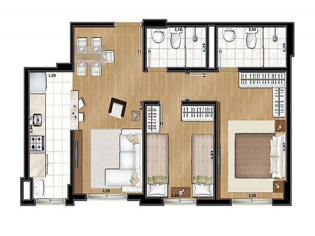 Imobiliária Silva Santos - Apto 2 Dorm, Partenon - Foto 5