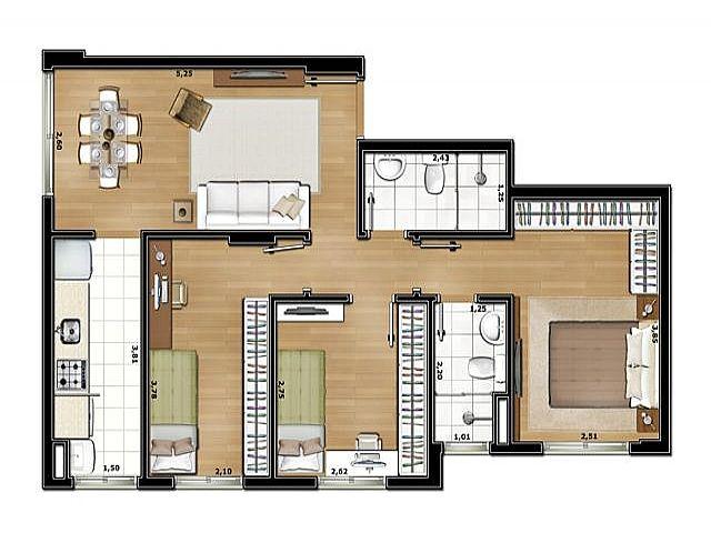 Imobiliária Silva Santos - Apto 2 Dorm, Partenon - Foto 4