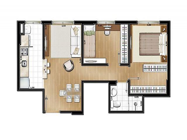 Imobiliária Silva Santos - Apto 2 Dorm, Partenon - Foto 3
