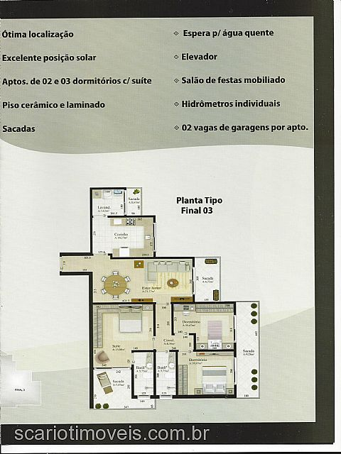 Apto 2 Dorm, Colina Sorriso, Caxias do Sul (124835) - Foto 2
