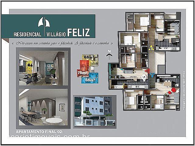 Apto 2 Dorm, Vila Verde, Caxias do Sul (202513) - Foto 2