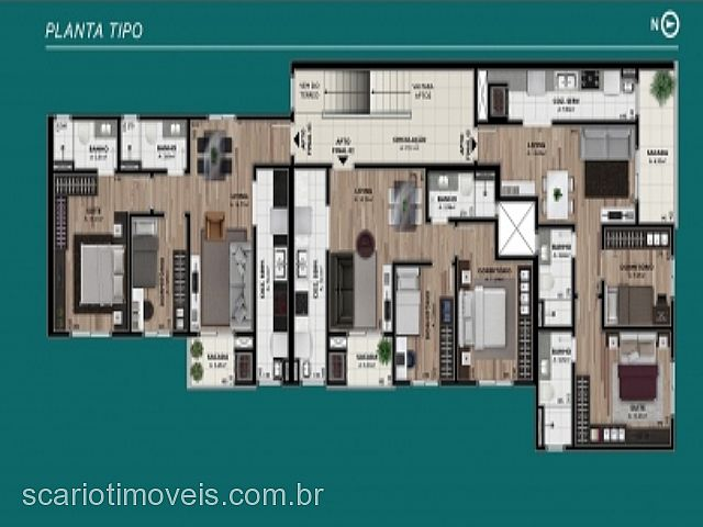 Apto 2 Dorm, Kayser, Caxias do Sul (267424) - Foto 3