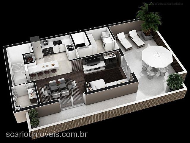 Apto 2 Dorm, Rio Branco, Caxias do Sul (267551) - Foto 7