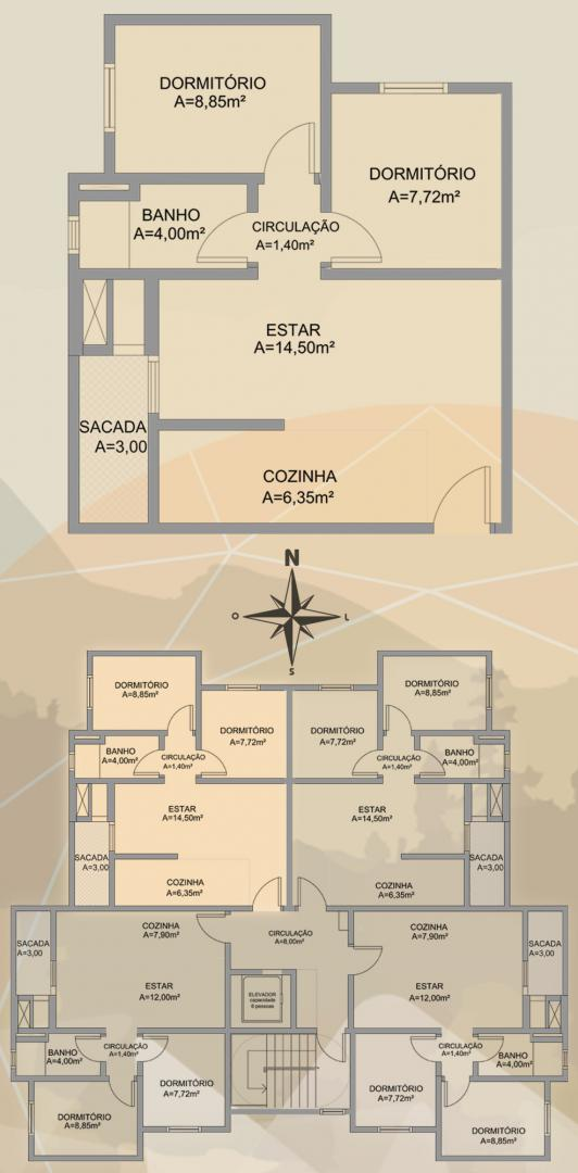 Apto 2 Dorm, Planalto, Caxias do Sul (336714) - Foto 3