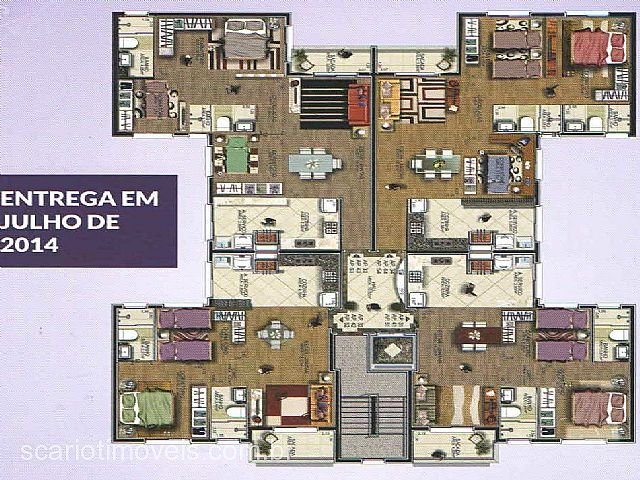 Scariot Imóveis - Apto 2 Dorm, Cruzeiro (63969) - Foto 7