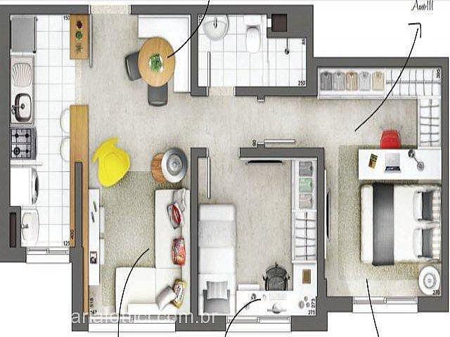 Imobiliária Lottici - Apto 2 Dorm, Centro, Canoas - Foto 10