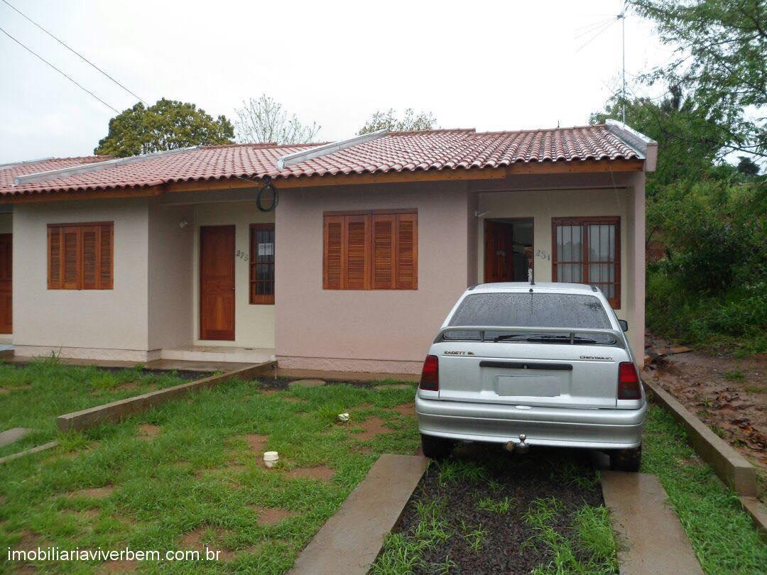 Casa 2 Dorm, Ouro Verde, Portão (315038)