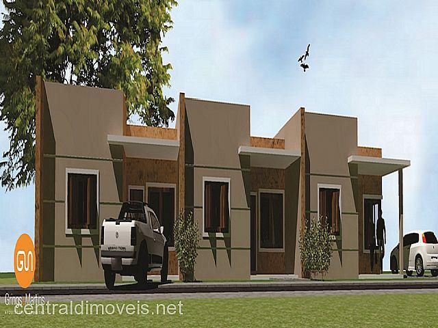 Casa 2 Dorm, Campo Grande, Estancia Velha (250602)