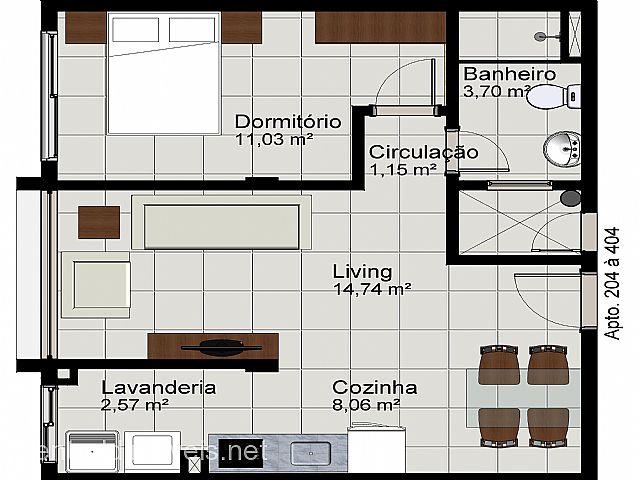 Apto 1 Dorm, União, Estancia Velha (305588) - Foto 6