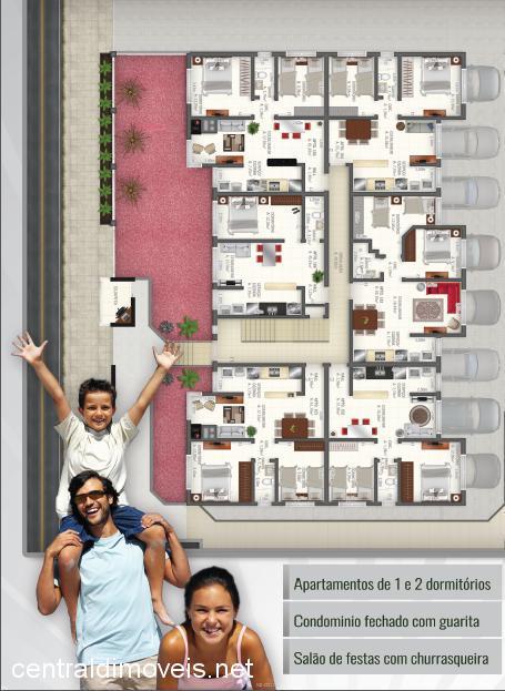 Central de Imóveis - Apto 1 Dorm, Lira (355061) - Foto 2