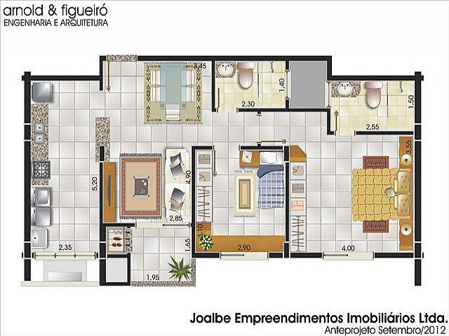 Apto 3 Dorm, Centro, Estancia Velha (238051) - Foto 3