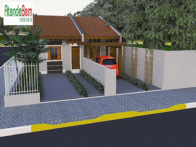 Casa 2 Dorm, Metzler, Campo Bom (253008)