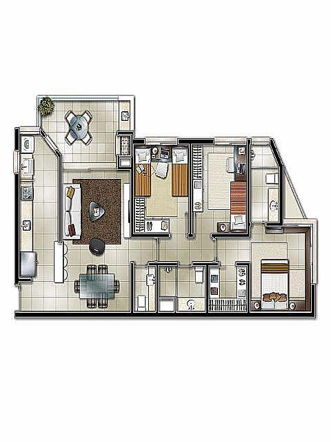 Apto 3 Dorm, Centro, Novo Hamburgo (270626) - Foto 2