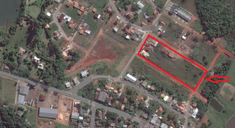 AtendeBem Imóveis - Terreno, Lomba Grande (350936)
