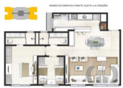 JFernando Imóveis - Apto 3 Dorm, Marechal Rondon - Foto 6
