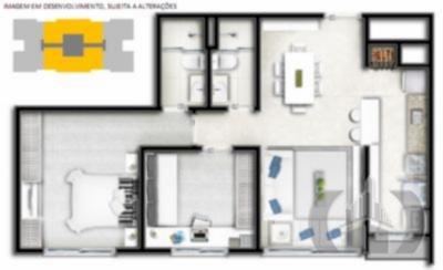 JFernando Imóveis - Apto 3 Dorm, Marechal Rondon - Foto 5