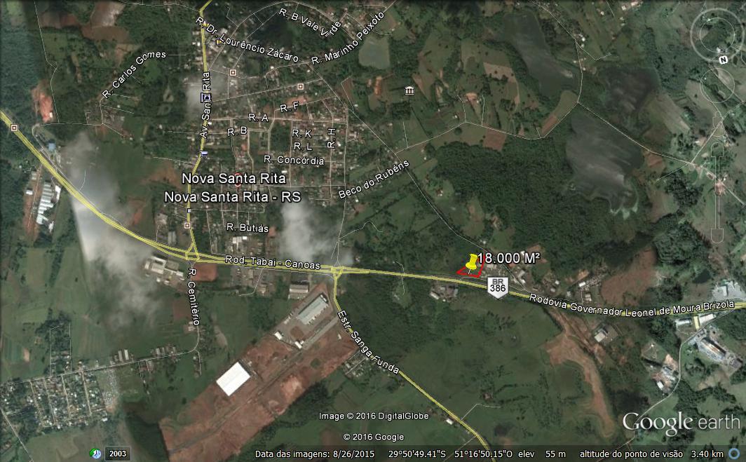 Terreno, Br 386, Nova Santa Rita (312088) - Foto 3