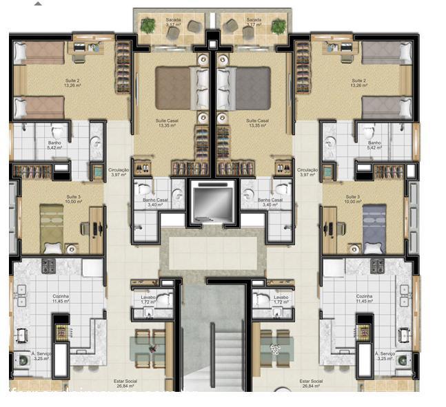 Apto 3 Dorm, Centro, Canoas (352298) - Foto 2